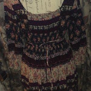 BAND OF GYPSIES BOHO DRESS Size S